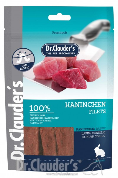 Dr. Clauders Snack Strips Kaninchenfilet 80g