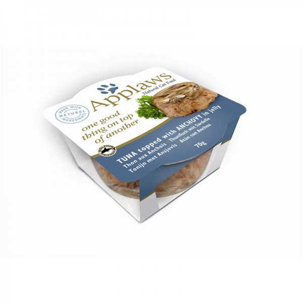 Applaws Cat Schale Layer Thunfisch & Sardelle 12x70g