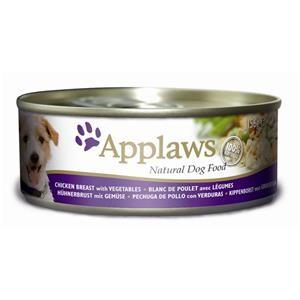 Applaws Dose Huhn & Gemüse & Reis 12x156g