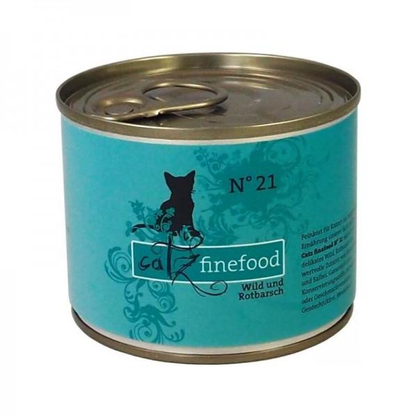 CatzFineFood No.21 Wild & Rotbarsch