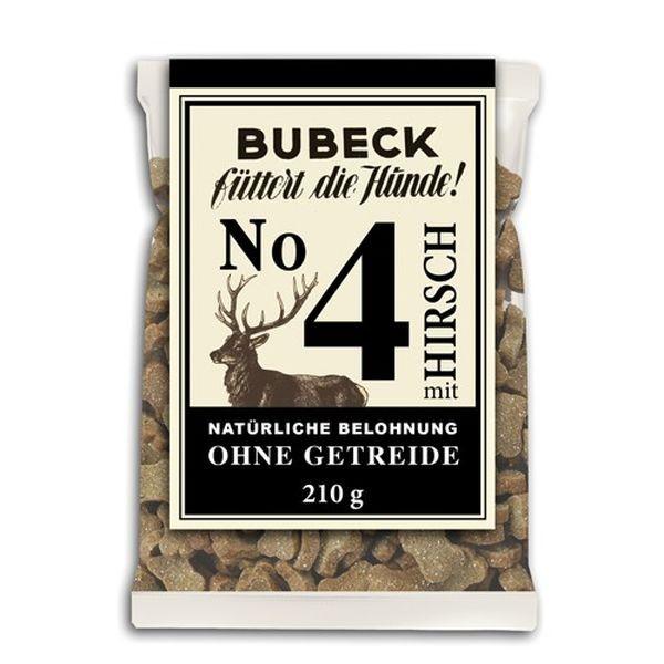 Bubeck No.4 mit Hirsch 210g