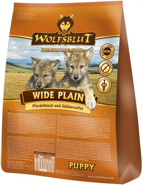 Wolfsblut Wide Plain Puppy Pferdefleisch & Süßkartoffel 15kg