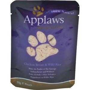 Applaws Cat Pouchbeutel Huhn & Wildreis 12x70g