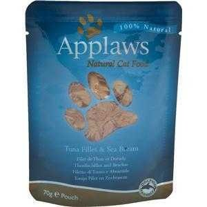 Applaws Cat Pouchbeutel Thunfischfilet & Dorade 12x70g