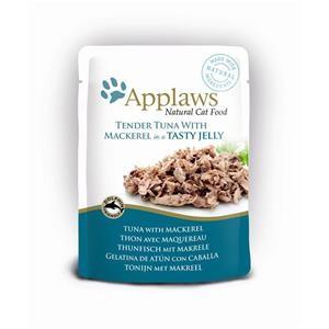 Applaws Cat Pouchbeutel Thunfisch & Makrele in Gelee 16x70g