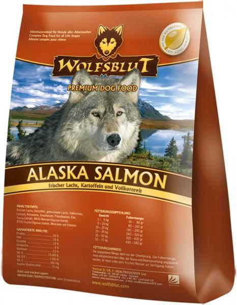 Wolfsblut Alaska Salmon Lachs & Reis 15kg