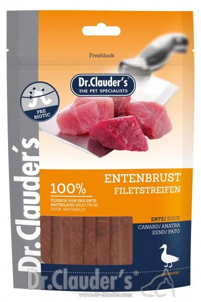 Dr. Clauders Snack Strips Entenbrustfiletstreifen 80g