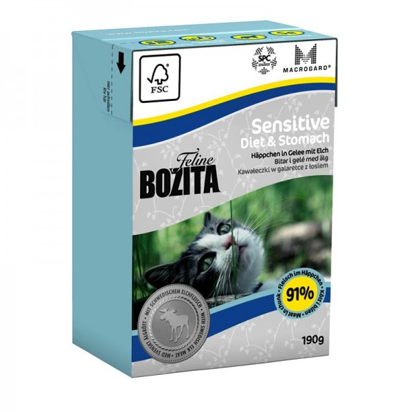 Bozita Feline Sensitive Diet & Stomach 190g