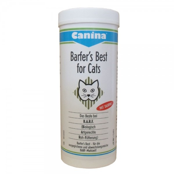 Canina Pharma Barfers Best for Cats