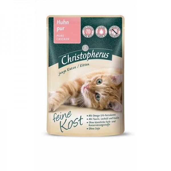 Christopherus Pouch Kitten Huhn pur 85g