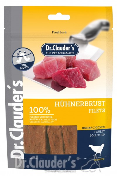 Dr. Clauders Snack Strips Hühnerbrustfilet 80g