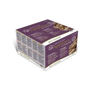 Applaws Cat Dose Multipack Gelee Selection 12x70g