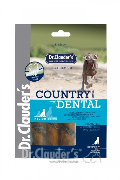Dr. Clauders Country Dental Snack Fisch