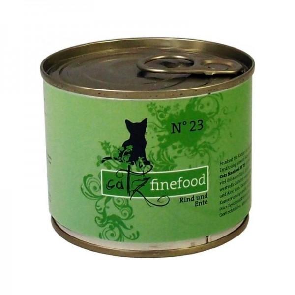 CatzFineFood No.23 Rind & Ente