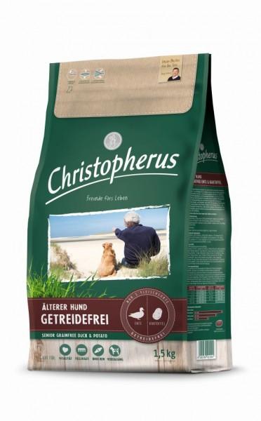 Christopherus Älterer Hund Getreidefrei Ente & Kartoffel