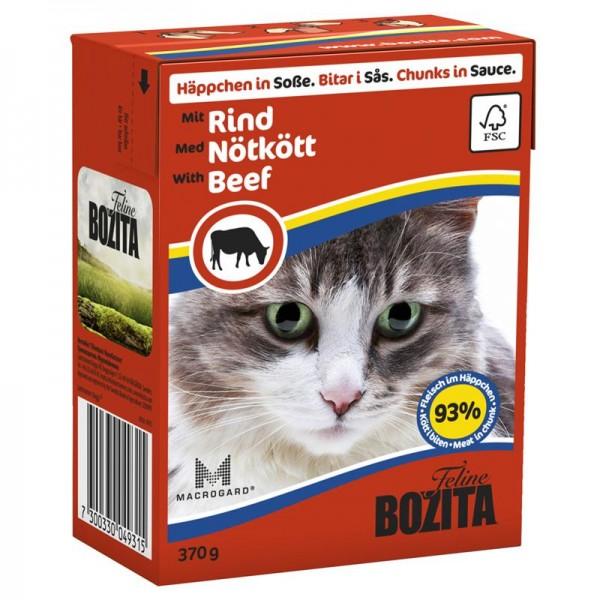 Bozita Häppchen in Soße mit Rind 370g