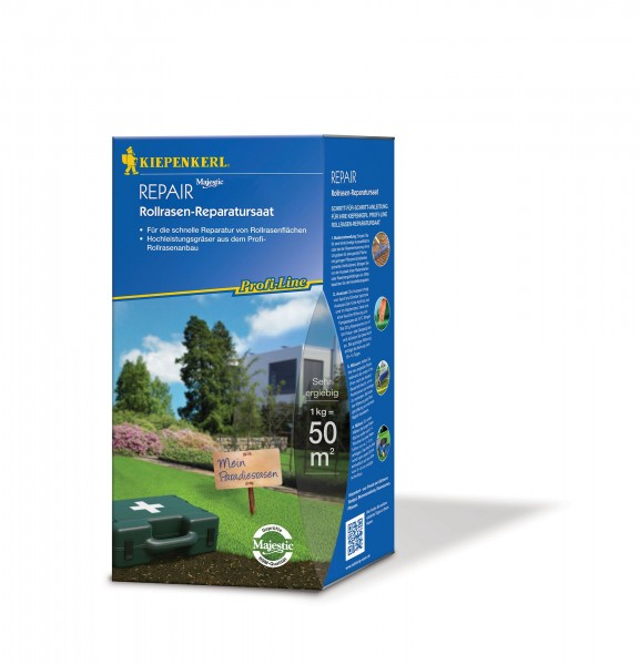 Kiepenkerl Profi Line Repair Rollrasen-Reparaturset 1kg
