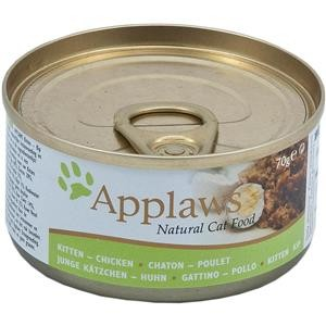 Applaws Cat Dose Kitten Huhn 24x70g