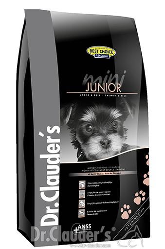 Dr.Clauders BestChoice Mini Junior Lachs&Reis
