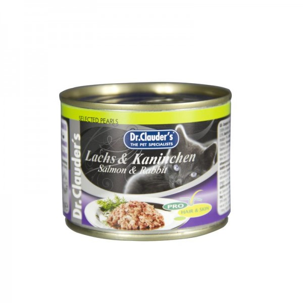 Dr. Clauders Selected Pearls Lachs & Kaninchen 200g
