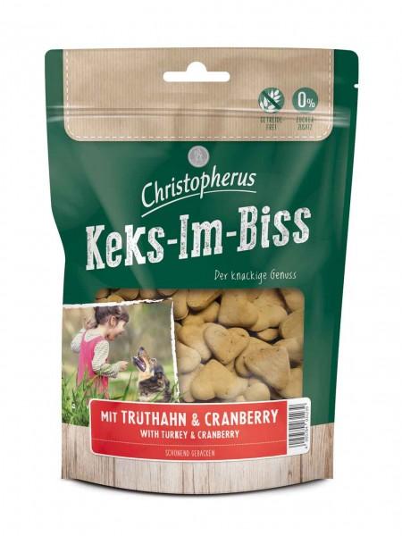 Christopherus Keks-Im-Biss mit Truthahn+Cranberry 175g