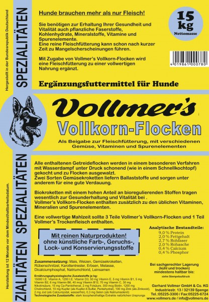 Vollmers Vollkorn-Flocken