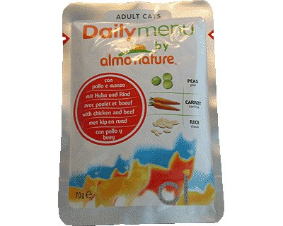 Almo Nature Daily Menü Huhn & Rind 70g