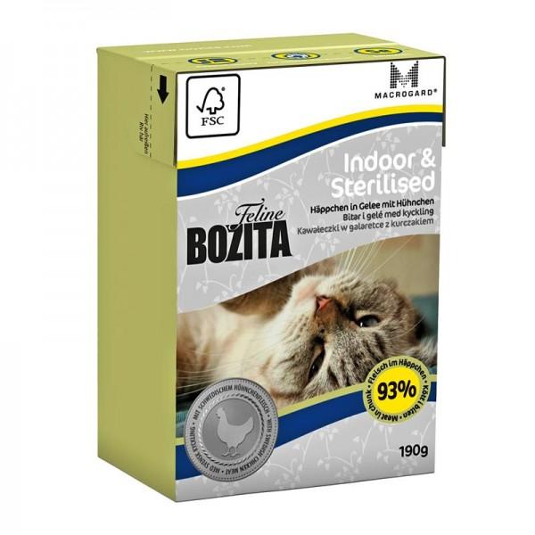 Bozita Feline Indoor & Sterilised 190g