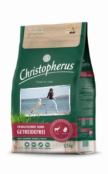 Christopherus Getreidefrei Hirsch & Kartoffel