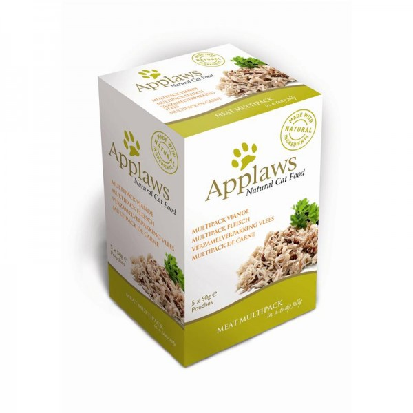 Applaws Cat Pouchbeutel Multipack Fleisch in Gelee 5x50g
