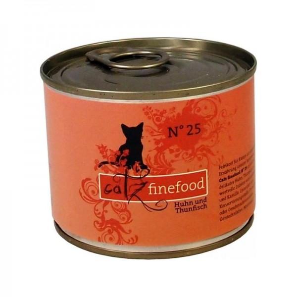 CatzFineFood No.25 Huhn & Thunfisch