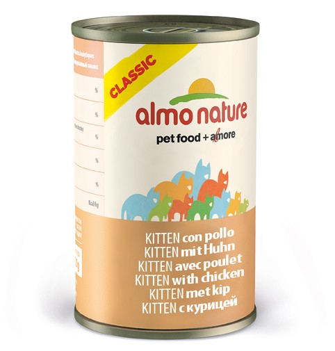 Almo Nature Cat Classic Kitten Huhn 140g