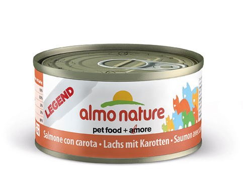Almo Nature Cat HFC Jelly Lachs & Karotte 70g