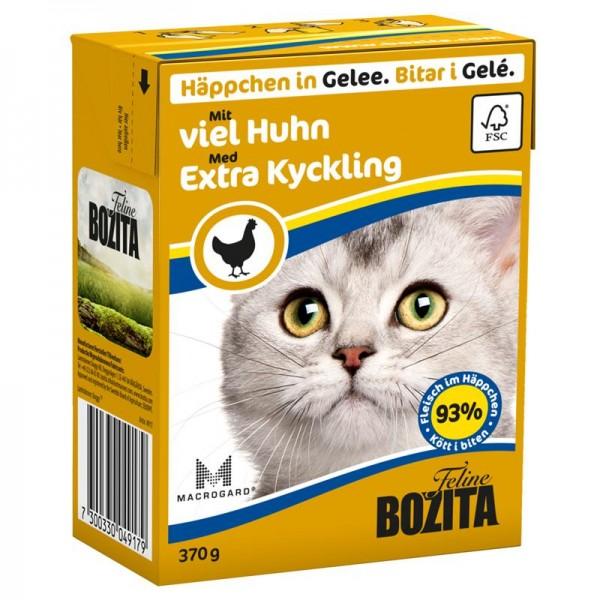 Bozita Häppchen in Gelee mit viel Huhn 370g