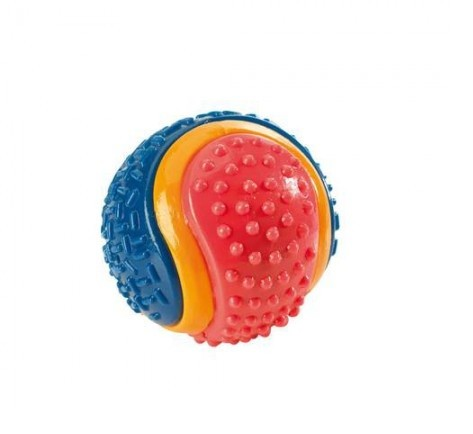 HUNTER Smart Hundespielzeug TPR Ball Tricolor