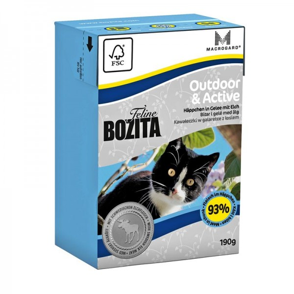 Bozita Feline Outdoor & Active 190g