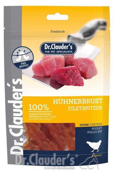 Dr. Clauders Snack Strips Hühnerbrustfiletspitzen 80g MHD14.07.221