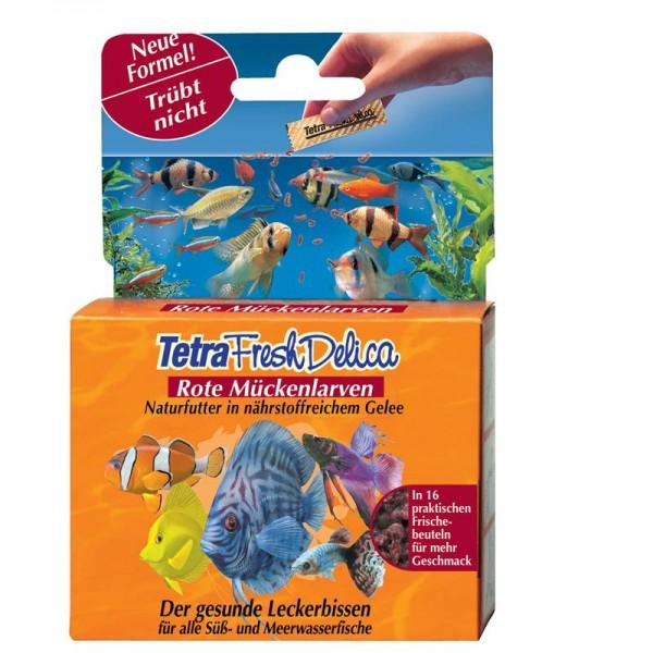 Tetra Fresh Delica Rote Mückenlarven 48g