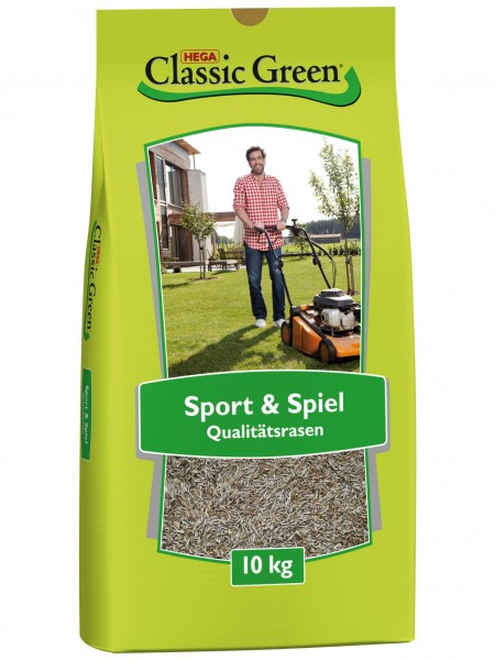 Classic Green Sport-+Spielrasen 10kg