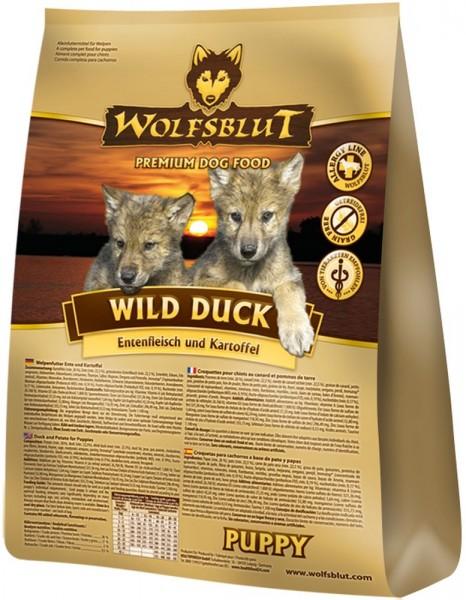 wolfsblut wild duck puppy ente kartoffel 15kg
