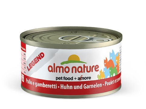Almo Nature Cat HFC Natural Huhn & Garnelen 70g