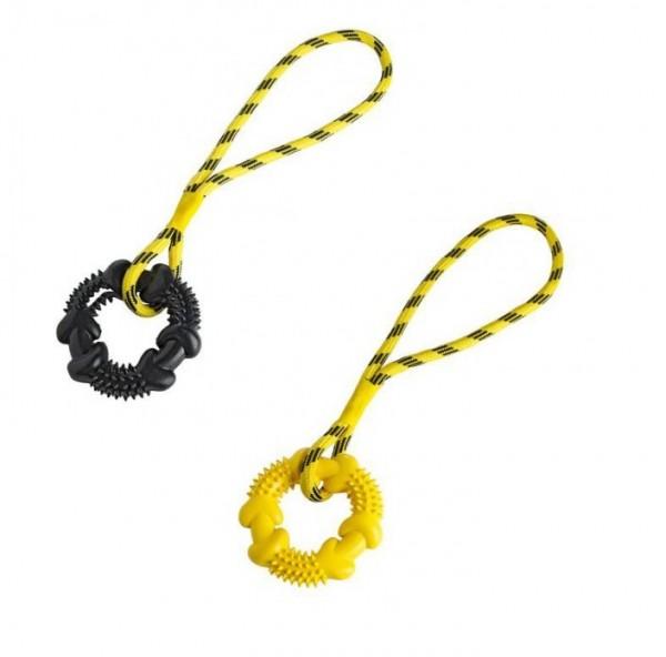 HUNTER Smart Hundespielzeug Spike Ring