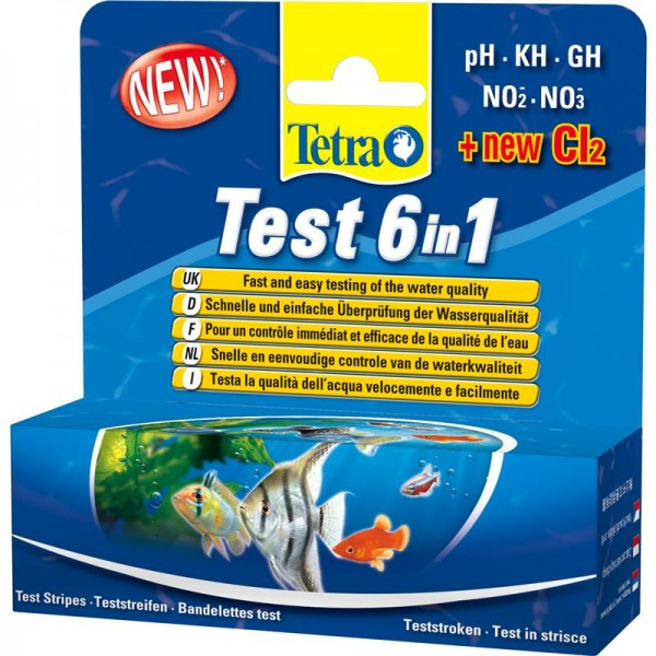 Tetra Test-Streifen 6in1 25 Stk.