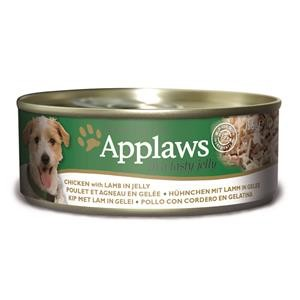 Applaws Dose Huhn & Lamm in Gelee 12x156g