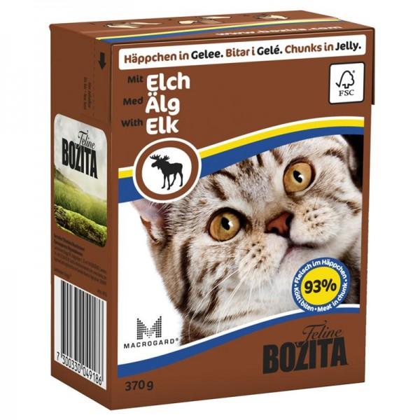 Bozita Häppchen in Gelee mit Elch 370g