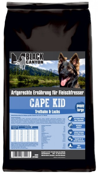 Black Canyon Cape Kid Puppy Large 15kg