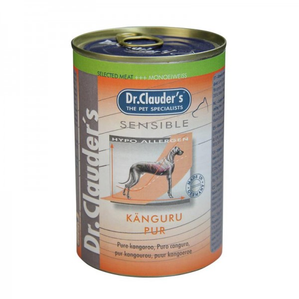 Dr. Clauders Sensible Känguru pur 400g
