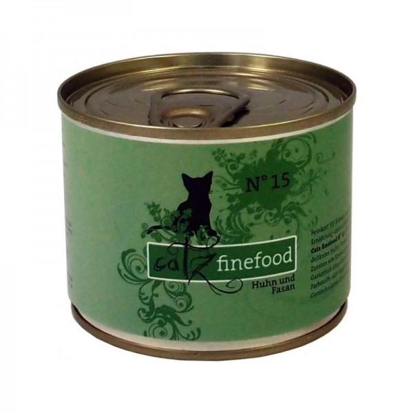 CatzFineFood No.15 Huhn & Fasan