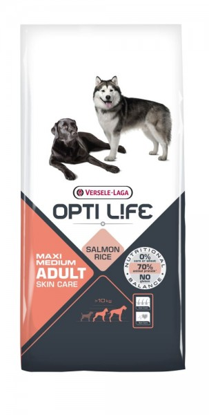 Opti Life Maxi/Medium Adult Skin Care 12,5kg