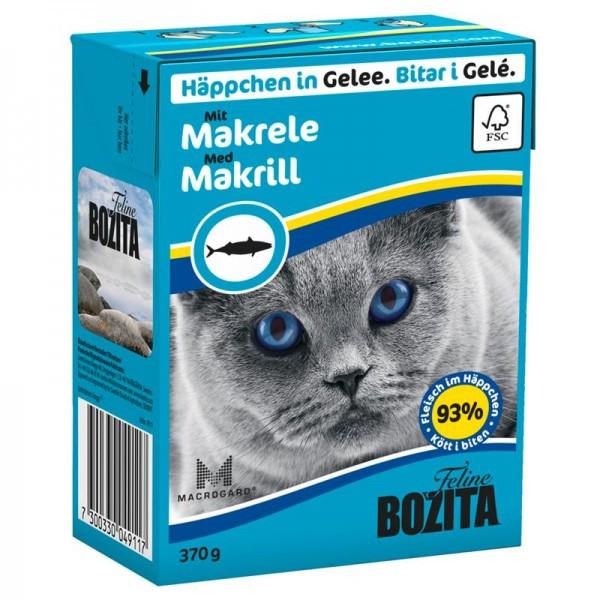 Bozita Häppchen in Gelee mit Makrele 370g